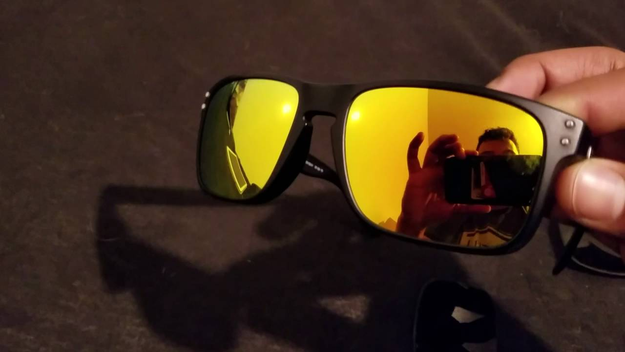 37ae2d92c6f Fuse lenses replacement for Oakley Holbrook in Cascade Mirror Polarized  yellow overview review