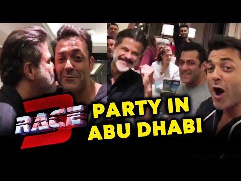 RACE 3 GRAND PARTY In Abu Dhabi | Salman Khan, Bobby, Anil Kapoor, Daisy, Jacqueline, Saqib, Remo