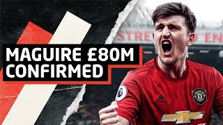 Maguire £80m Deal Confirmed   Transfer Talk