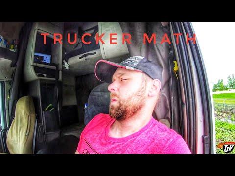My Trucking Life | TRUCKER MATH | #1757