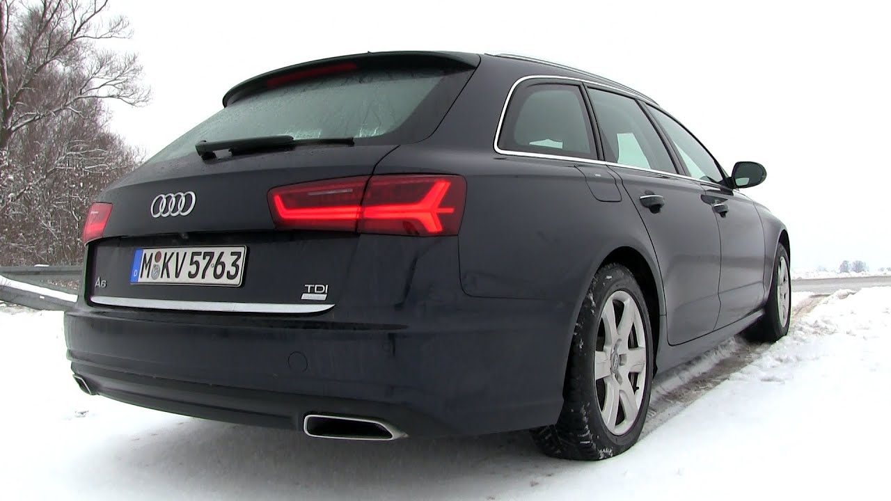 2015 audi a6 avant 2 0 tdi ultra 190 hp test drive youtube. Black Bedroom Furniture Sets. Home Design Ideas