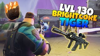 LVL 130 TIGER Assault rifle IS IT GOOD? | Fortnite Save The World