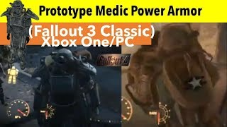 Fallout 4 Xbox One/PC Mods|Prototype Medic Power Armor (Fallout 3 Classic)
