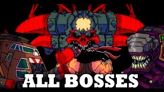 Broforce - All Bosses (With Cutscenes) HD