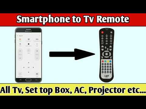 How to use Smartphone into Tv Remote & Set top Box Remote | MI Remote &  Zaza Remote | TRAM TECH |