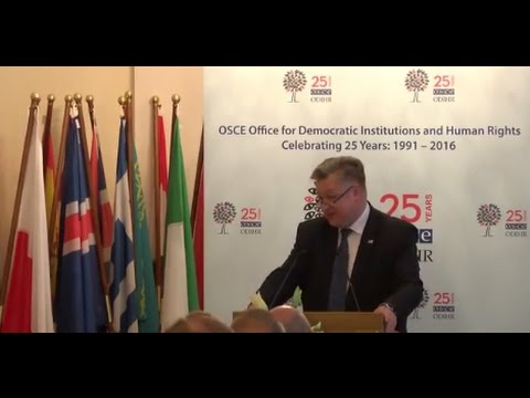 ODIHR's 25th anniversary celebrations