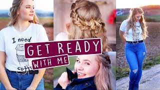 """GET READY WITH ME (LIVE) - Birthday Party! 🎉 + ENDLICH """"MERCH""""!"""