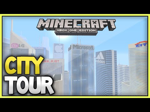 Minecraft Xbox Subscriber City Tours [7] -  The Amazing Skyscraper World