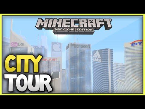 Minecraft Xbox Subscriber City Tours [7] -  The Amazing Skyscraper World