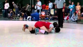Sarah Phillips LANCER YOUTH vs Shirley Flynn OHIO, USGWA NATS  3-31-2012.