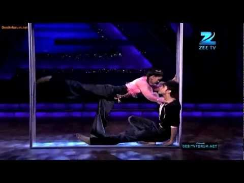 Sneha gupta with Raghav,crockroach 4th march 2012, Dance India Dance season 3, Zenith Dance Company