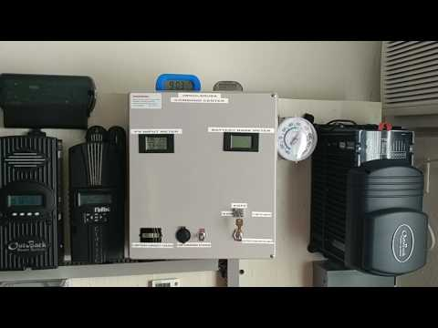 SOLAR POWER - Free Power From The Sun Charging My 48 Volt OffGrid Solar Battery Backup System Part#5
