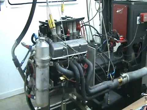 360 Sprint Car Engine Dyno Youtube