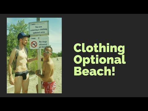 Hanlan's Point Clothing Optional Beach Toronto