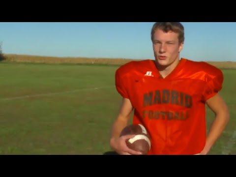 This high school's best football player won't tie his shoes