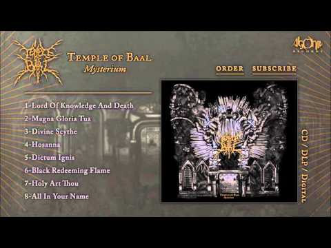 TEMPLE OF BAAL - Mysterium (Official Album Stream)