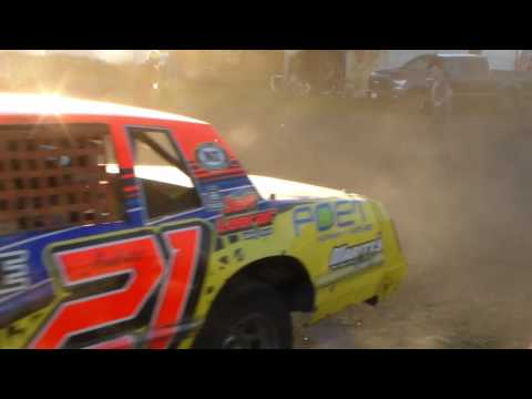 Hobby Stock's In Staging @ Hancock County Speedway 05/12/17
