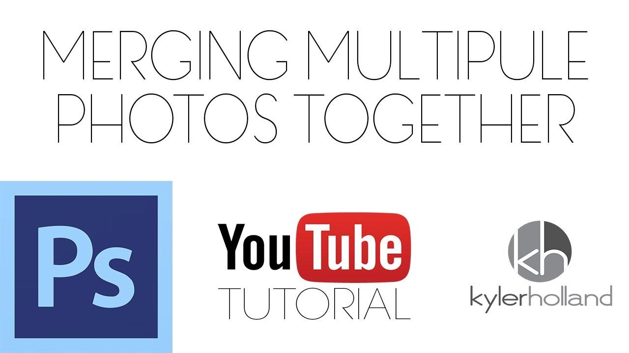 Photoshop cs6 tutorial merging multiple photos advanced youtube baditri Image collections