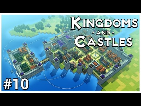 Kingdoms and Castles [Beta] - #10 - Orchard Island - Let's Play / Gameplay / Construction