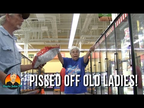 Pissed Off Old Ladies!