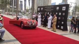 1956 Ferrari 250 GT Boano wins at Classic Car Festival 2015 in Dubai