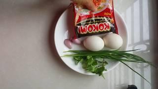 cách làm mì gói trứng chiên giòn ngon mê ly.