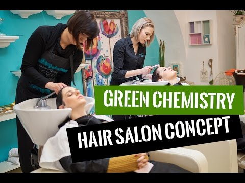Oway & Hair and Beauty Studio Trish - Green Chemistry Hair Salon Concept (No Speech Video Version)