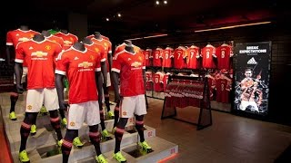 видео Новая форма Манчестер Юнайтед 2015-2016