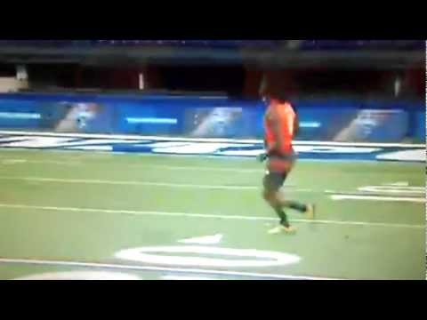 Robert Griffin III Vs Cam Newton At The Combine
