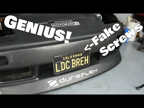 License Plate Fix-It Ticket Hack!