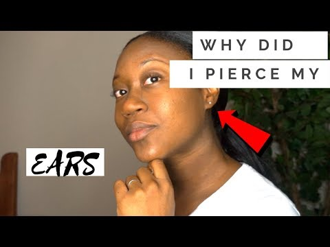 WHY DID I PIERCE MY EARS ? APOSTOLICS | PENTECOSTALS DON'T PIERCE THEIR EARS!