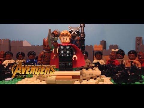 Avengers Infinity War | Thors Arrival in Wakanda in LEGO