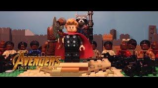 Avengers Infinity War | Thor's Arrival in Wakanda in LEGO