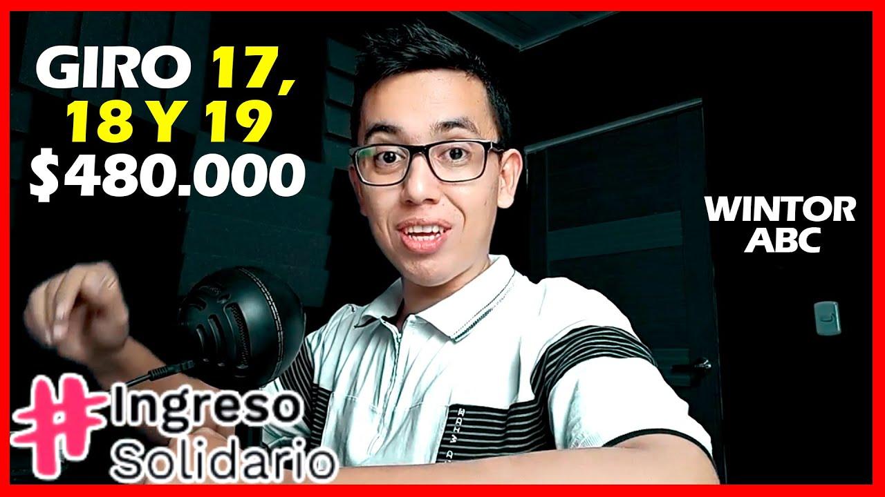 Download 🚩Buenas noticias Ingreso Solidario que no les pagaron el giro 17   $480.000 Giro 17-18 y 19 - Bancos