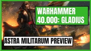 Astra Militarum Faction Preview In Warhammer 40,000: Gladius - Relics Of War