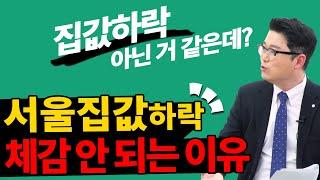 서울 집값, 이제 상승, 폭락으론 설명 안된다! …