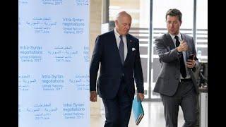 أخبار عربية   وفد المعارضة السورية في #جنيف استعدادا لإنطلاق المفاوضات