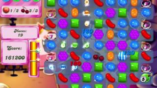 Candy Crush Saga Level 521 Collect all the ingredients