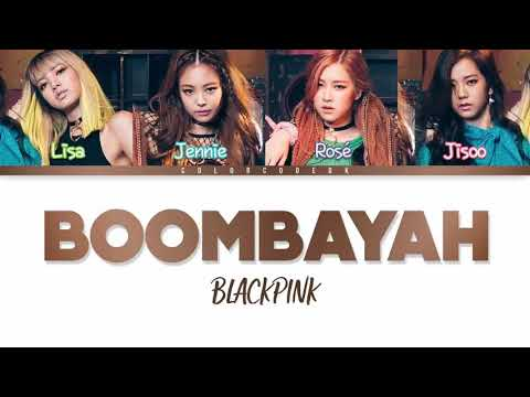 Blackpink - Bombayah (color Coded) Lyrics/Eng/Rom/Han)