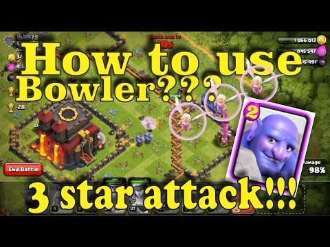 Compilation 3 Star Th10 vs Th10 Bowler Attack Strategy