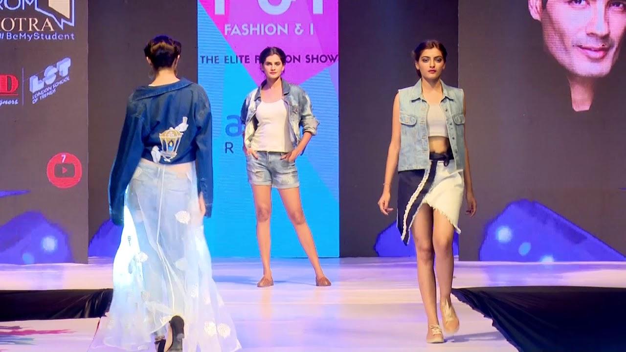 F I Fashion Show 2018 By Inifd Gandhinagar Youtube