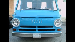 1960s Dodge A100 Pickup Blu NewSmyrna121314