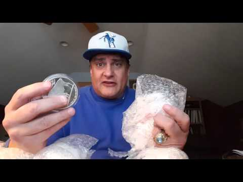 Unboxing 135 Total Ounces of Silver Towne 5 Oz Buffalo Rounds from ISN(International Silver Network)
