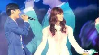 Super Junior & TVXQ kissing SHINee (Taemin) ♥ Girl You're Amazing