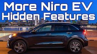 Kia Niro EV More Hidden Features (previously called Forgotten Features)