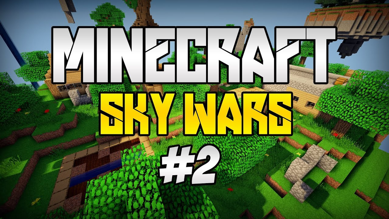 Minecraft: SKY WARS [#2] - Jak on to robi?! :o - YouTube