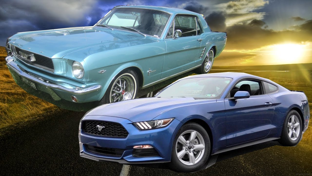 52 years of ford mustang body design evolution 1965 2018