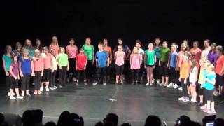 KW Glee 2014 Summer Boot Camp - True Colours (Artists Against Bullying)