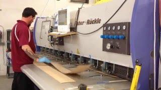 Navy Island veneer splicing