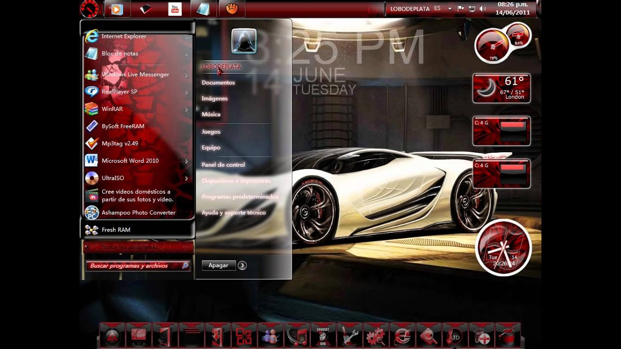 Autos Tuning Hd: WALLPAPERS AUTOS TUNING-BY LOBODEPLATA.wmv